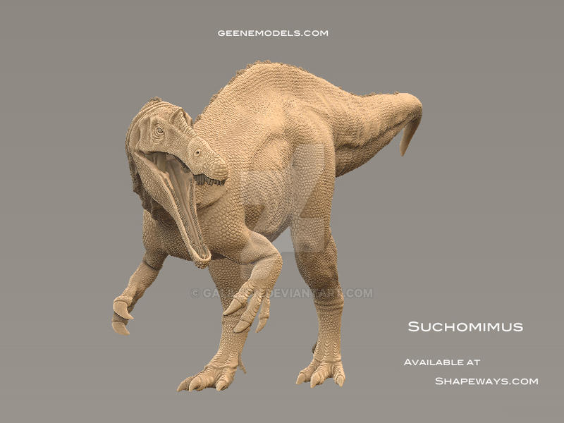 Suchomimus by GalileoN