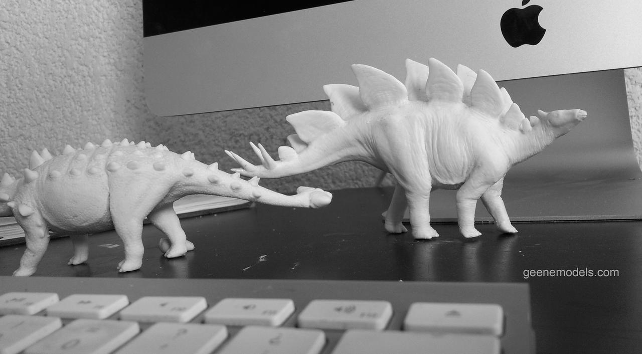 Stegosaurus Resin model by GalileoN