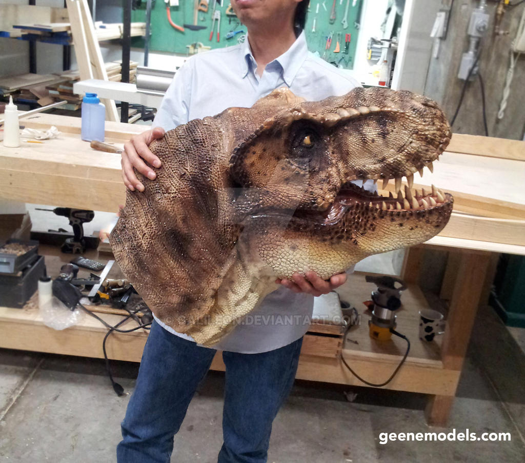 Tyrannosaurus Rex 1:4 Scale Bust by GalileoN