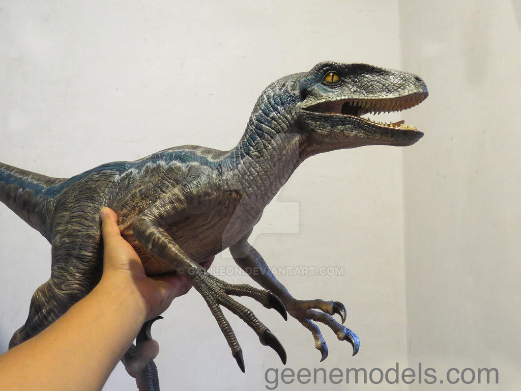 Raptor 4 feet long new color by galileon on deviantart - Raptor dinosaure ...