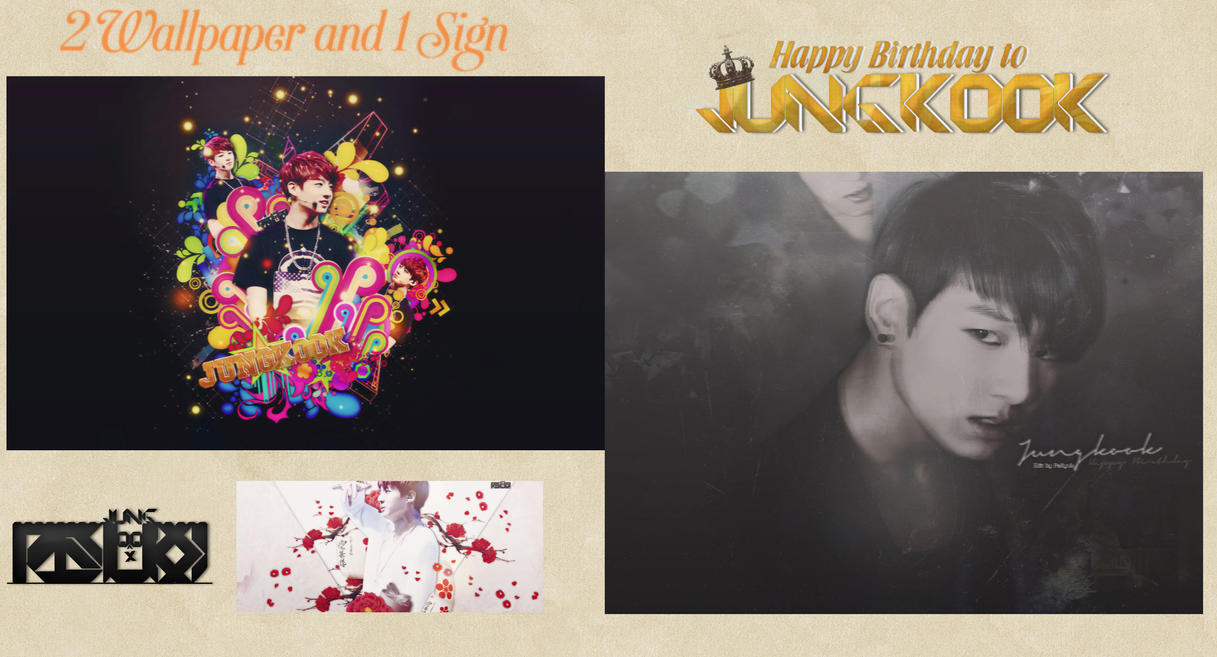 [Pack] Happy Birthday to Mr. Kookie by pasyuks9b6