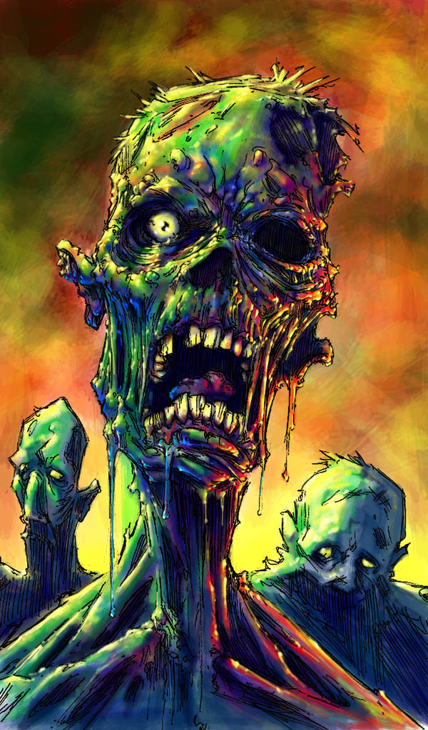 ZOMBIES by QuinteroART