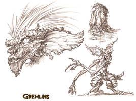 GREMLINS 02 by QuinteroART