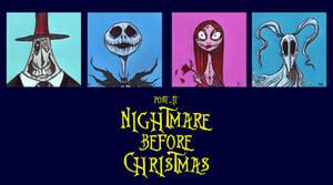 POST IT NIGHTMARE BEFORE CHRISTMAS