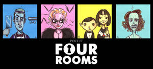 POST IT FOUR ROOMS