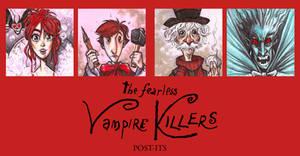 POST IT FEARLESS VAMPIRE KILLERS