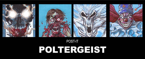POST IT POLTERGEIST