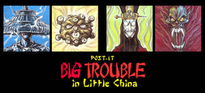 POST IT BIG TROUBLE IN LITTLE CHINA
