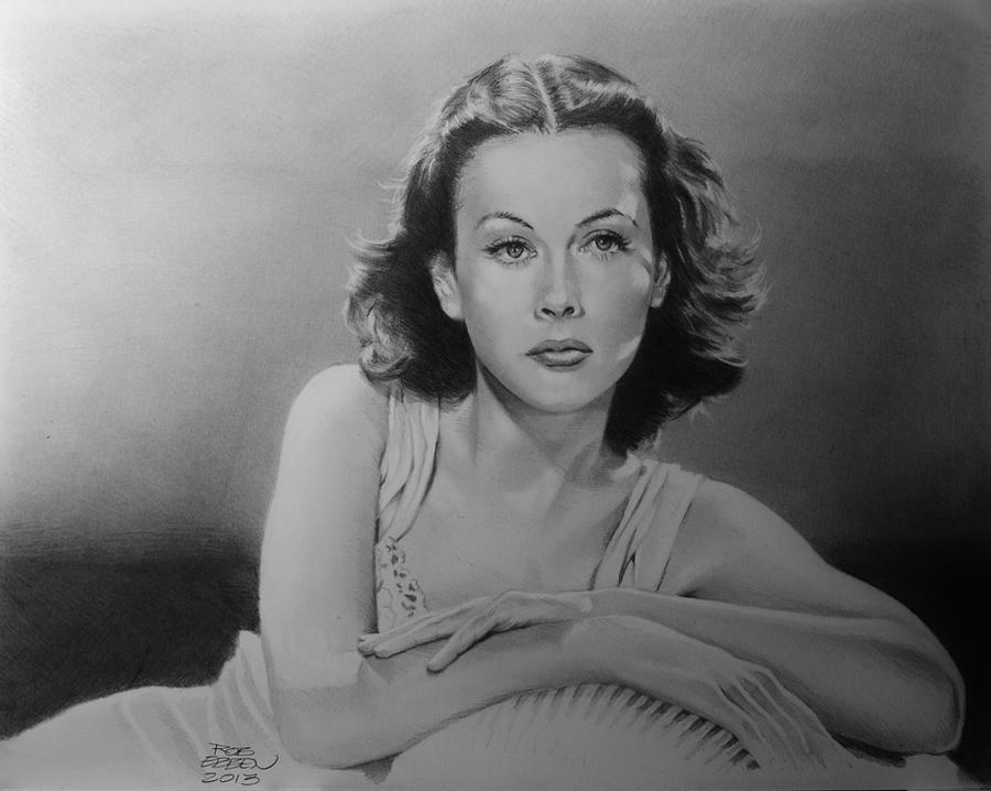 Hedy Lamarr by MrEyeCandy66