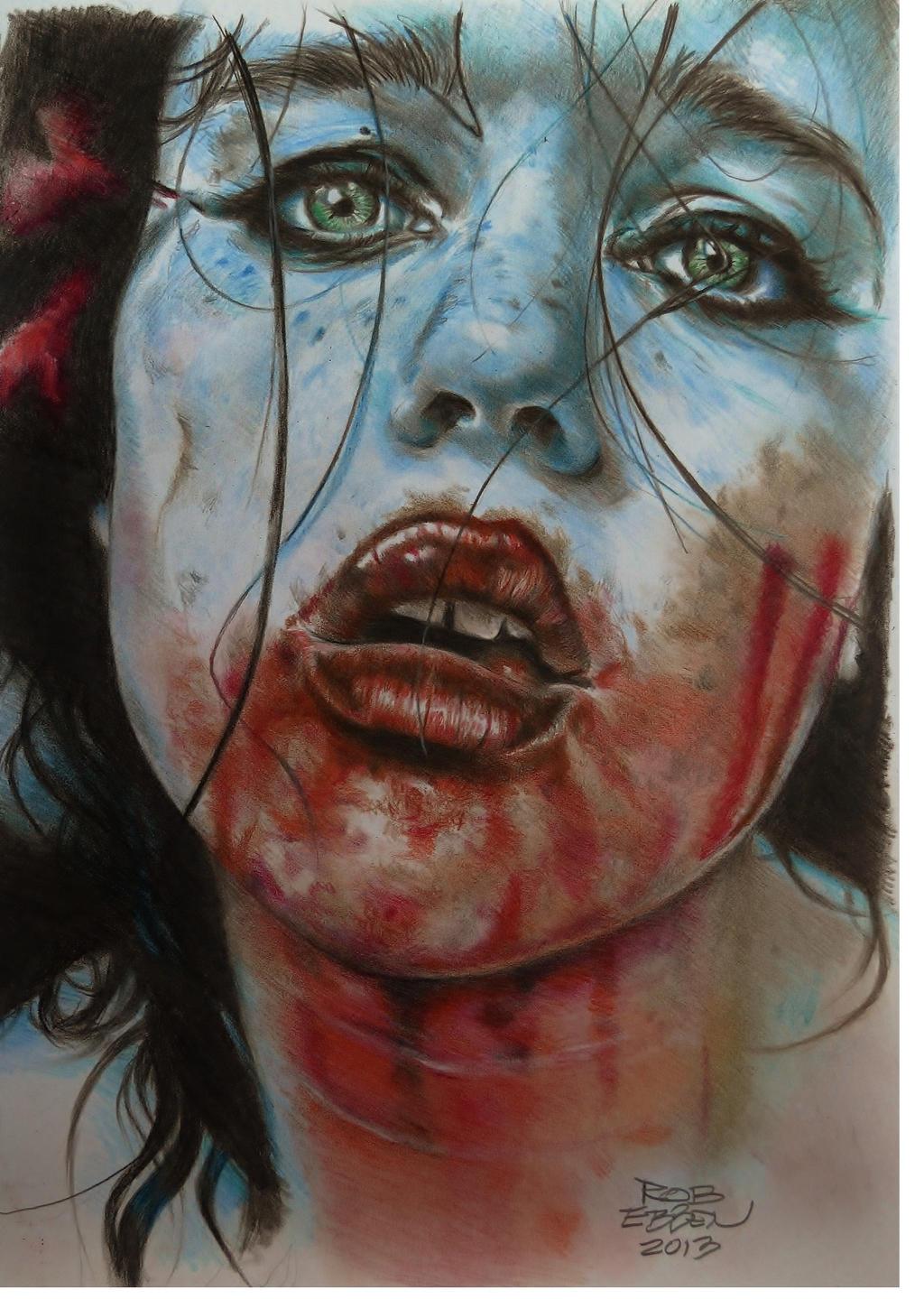 Cristina Otero's Remorse by MrEyeCandy66