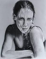 Vera (water drawing) by MrEyeCandy66