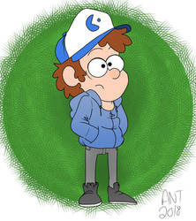 Dipper (Colored) by Mracatomical