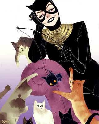 Catwoman by kevinwada