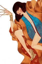 Lady Deathstrike by kevinwada