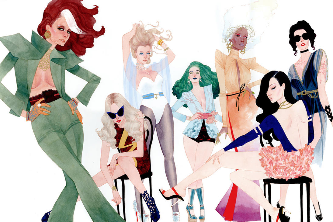 X-men Do Vanity Fair by kevinwada