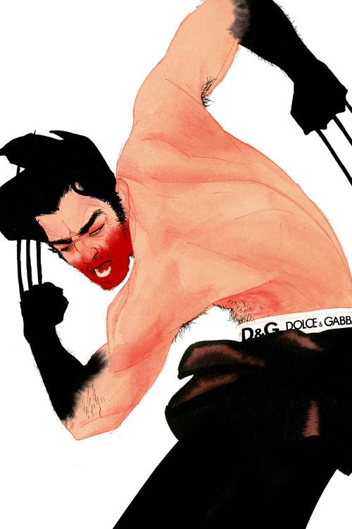 Wolverine by kevinwada