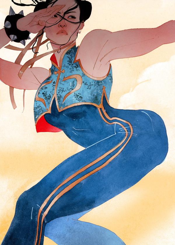 Chun-Li by kevinwada