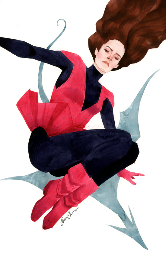 Kitty Pryde Series 2, Costume 1 by kevinwada