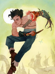 Peter Pan by kevinwada