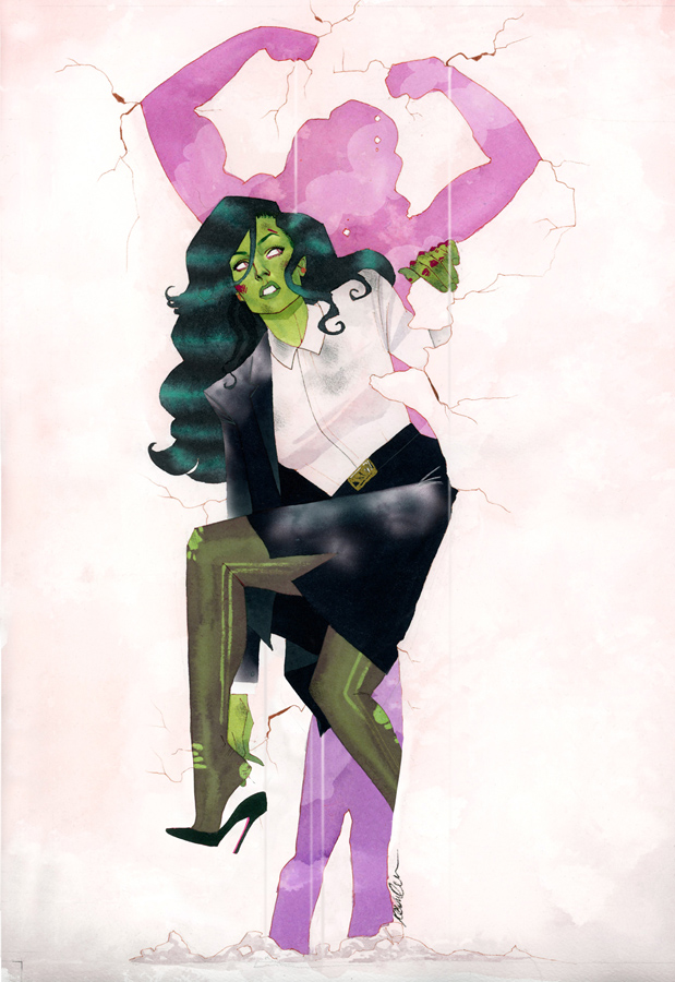 She-Hulk Issue #1 by kevinwada
