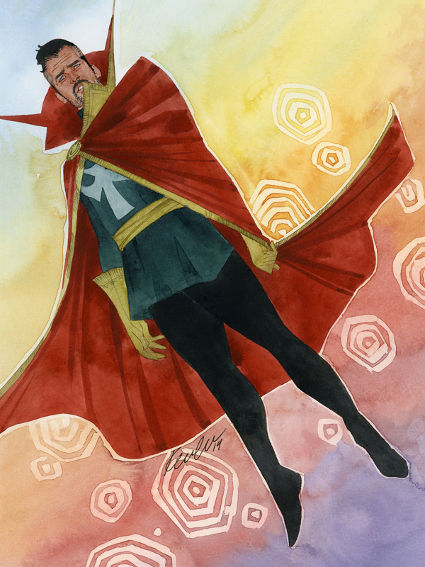 Doctor Strange by kevinwada