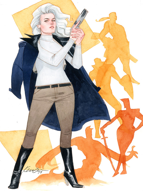 Silver Sable by kevinwada