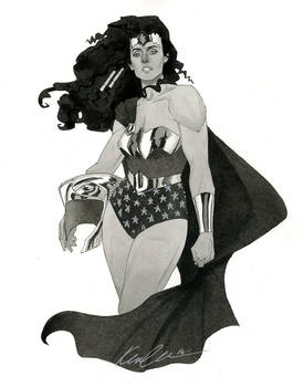 Wonder Woman - HeroesCon 2014 sketch