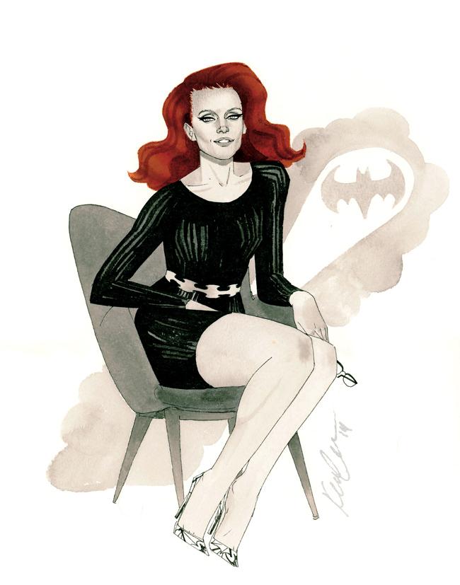 Barbara Gordon - HeroesCon 2014 sketch by kevinwada