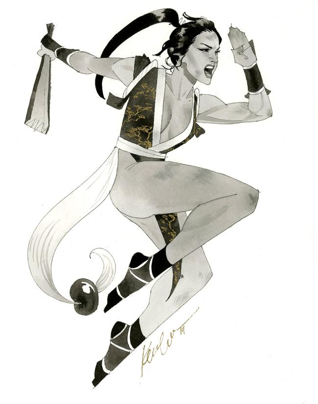 Mai Shiraniu - HeroesCon 2014 sketch by kevinwada