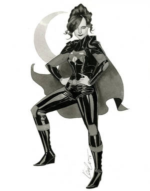 Night Girl - HeroesCon 2014 sketch
