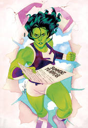 She-Hulk Issue #6 by kevinwada
