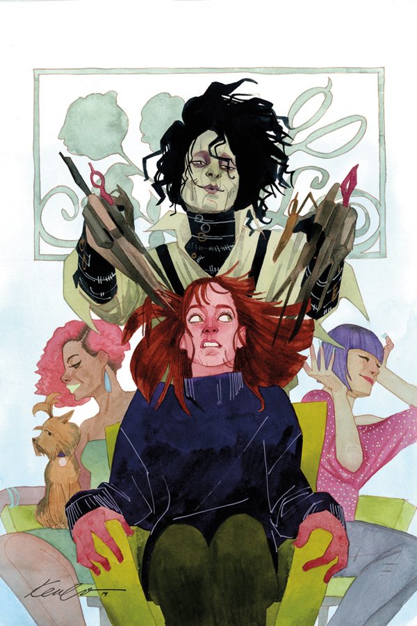 Edward Scissorhands Issue #2 Variant by kevinwada