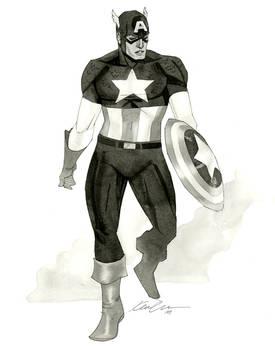Captain America - HeroesCon 2014 sketch
