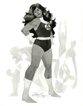 Fantastic Four She-Hulk - HeroesCon 2014 sketch