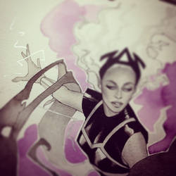 Queen Bey as Queen Storm by kevinwada
