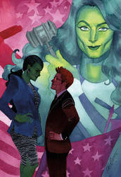 She-Hulk Issue #10 by kevinwada