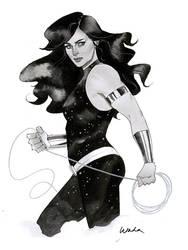 Donna Troy - Austin Wizard World 2014 sketch