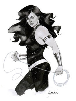 Donna Troy - Austin Wizard World 2014 sketch