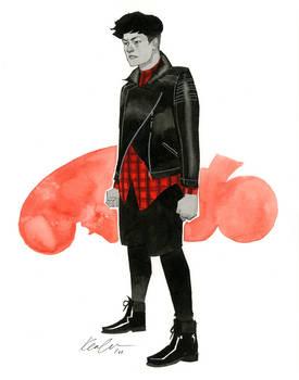 Kaneda - Austin Wizard World 2014 sketch