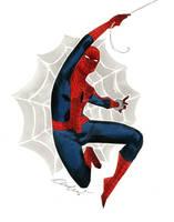 Spider-Man - Austin Wizard World 2014 sketch by kevinwada
