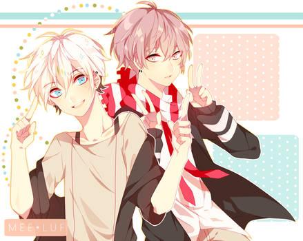 Reo and Ryo again [Speedpaint]