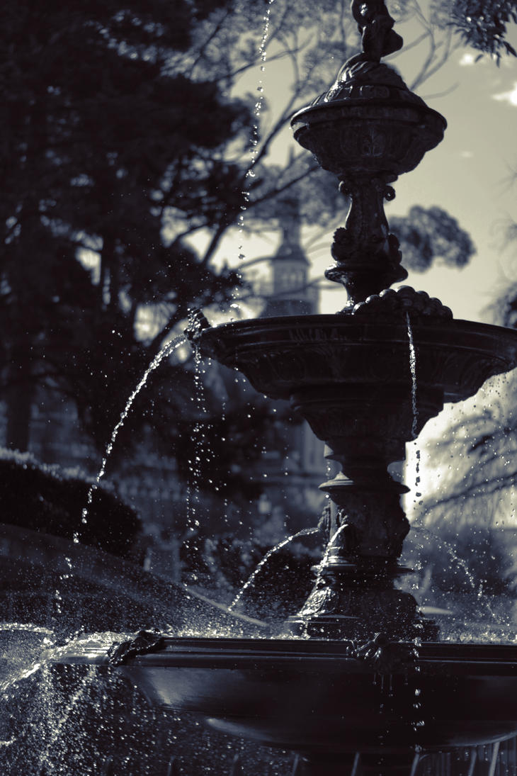 Rosalind Park fountain - Bendigo by theartofsin