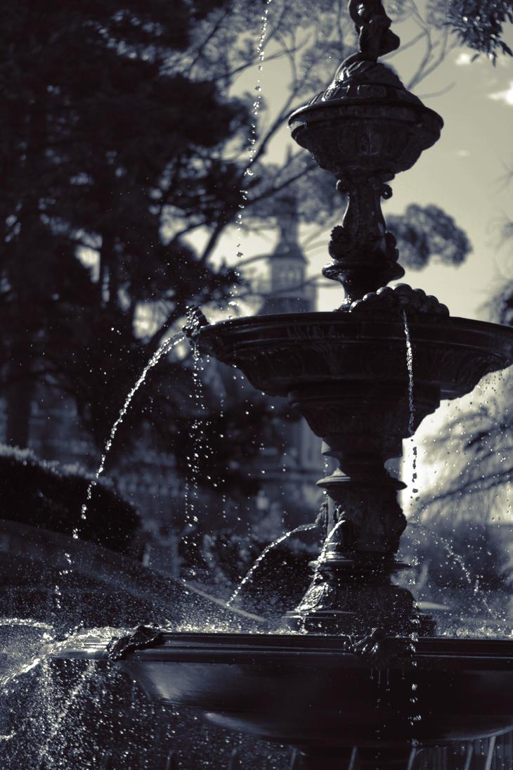 Rosalind Park fountain - Bendigo by theartofsin