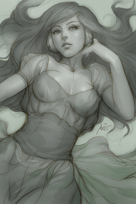 Pepper Rest by Artgerm