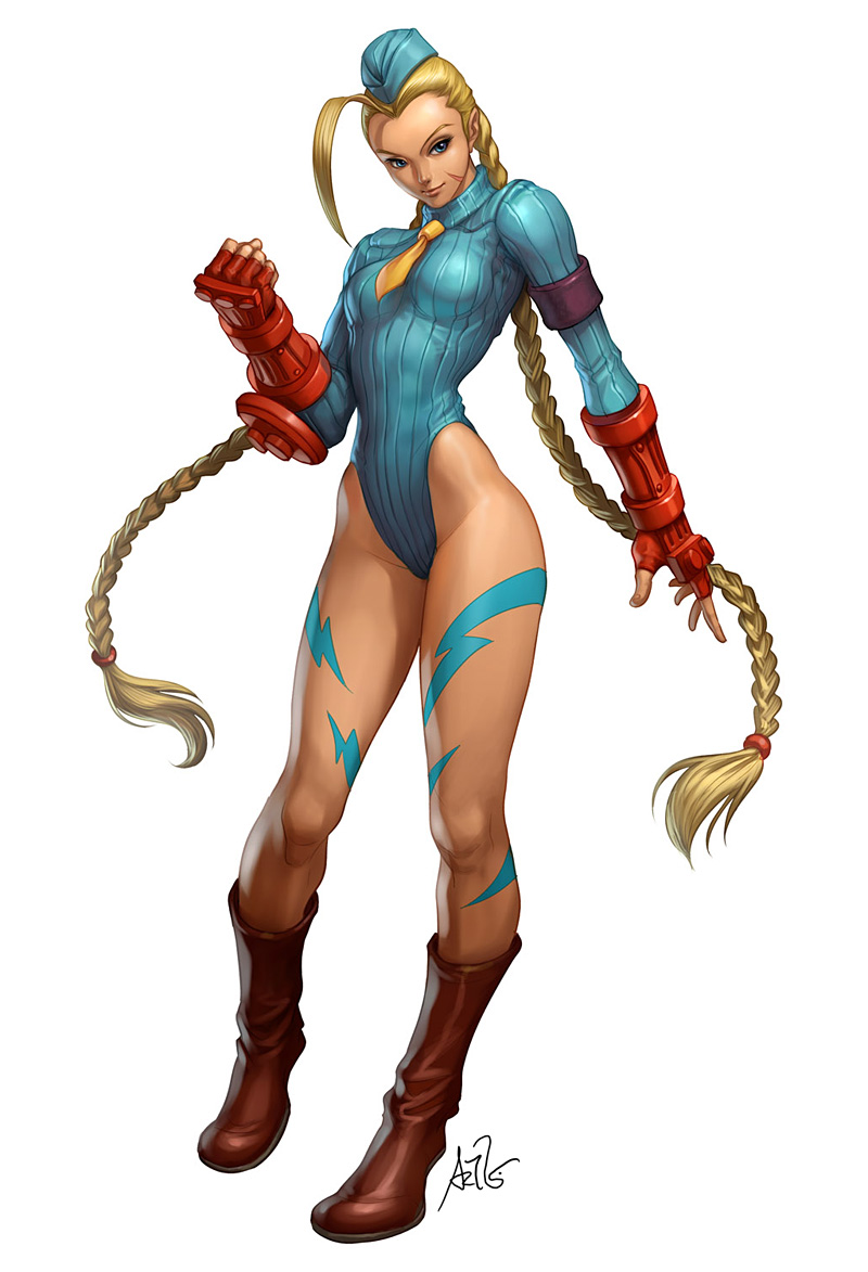 Camomile Cammy by Artgerm