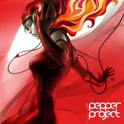 Pepper Groove by Artgerm