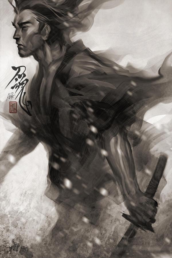 Samurai Spirit 7 by Artgerm