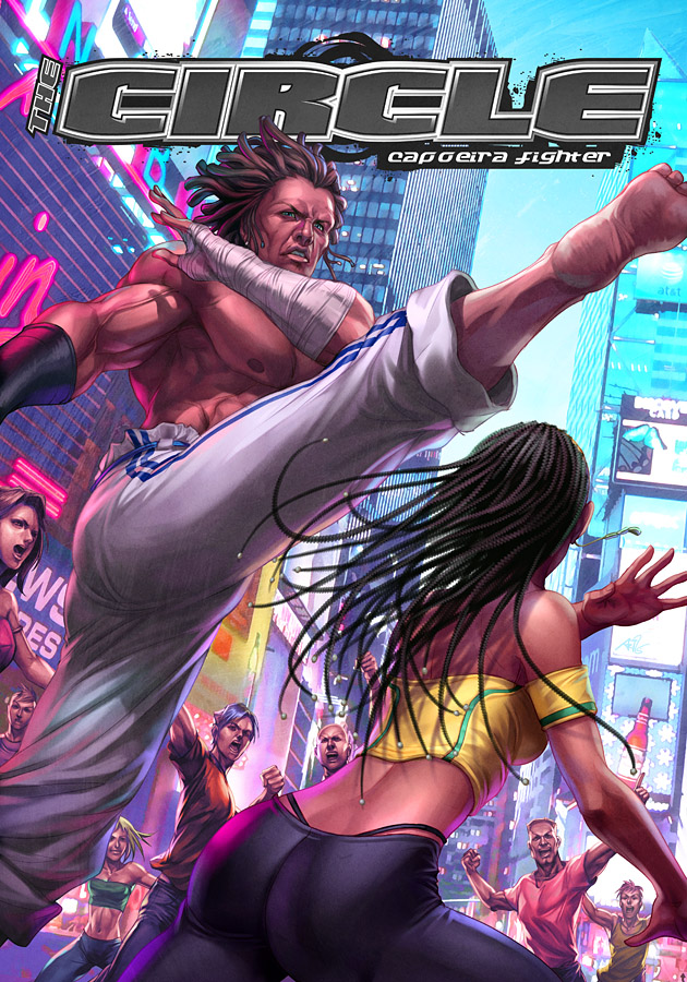 Capoeira Fighters by Artgerm