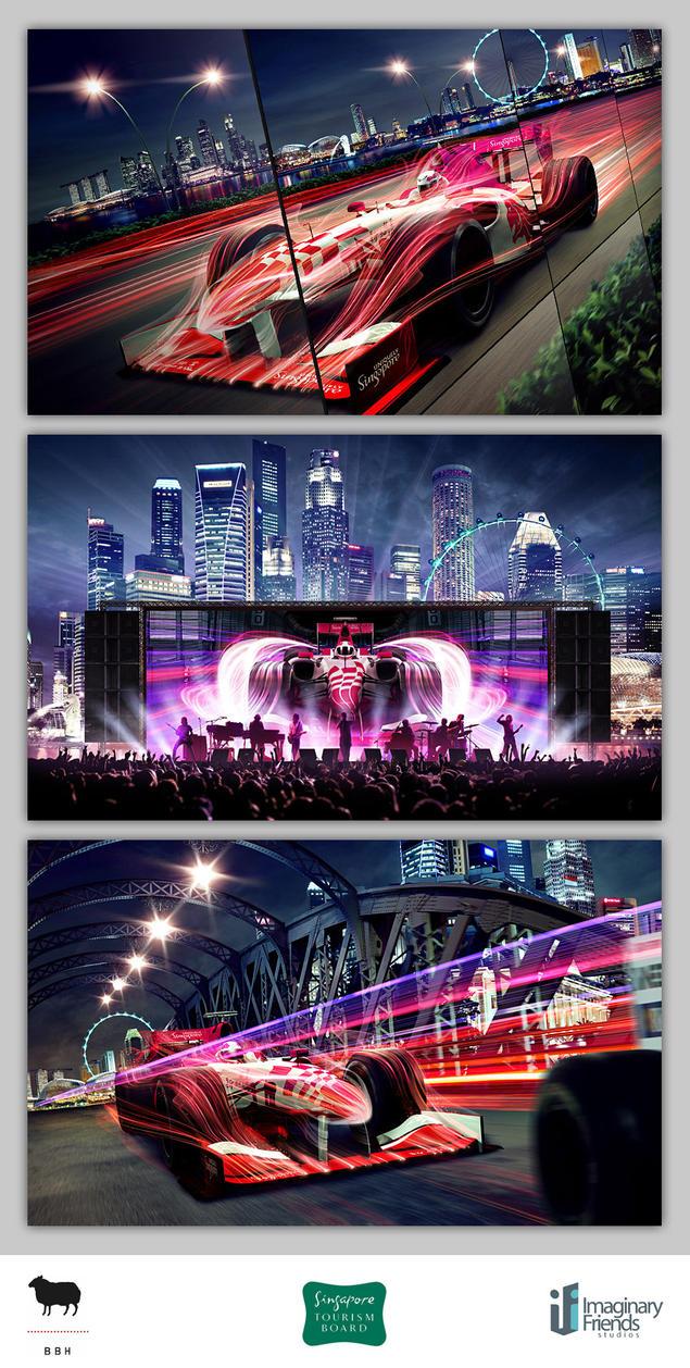 Singapore F1 2009 by Artgerm