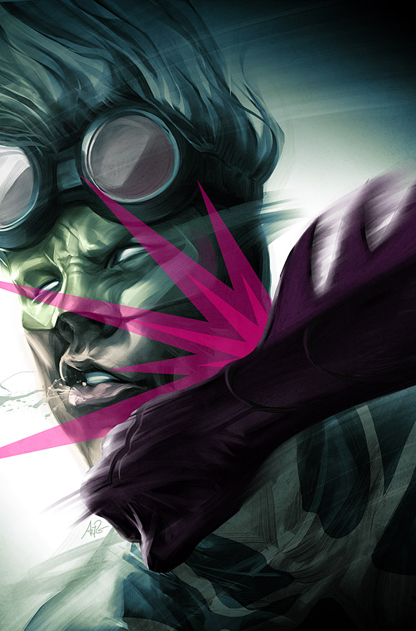 The Web - Issue 3 by Artgerm